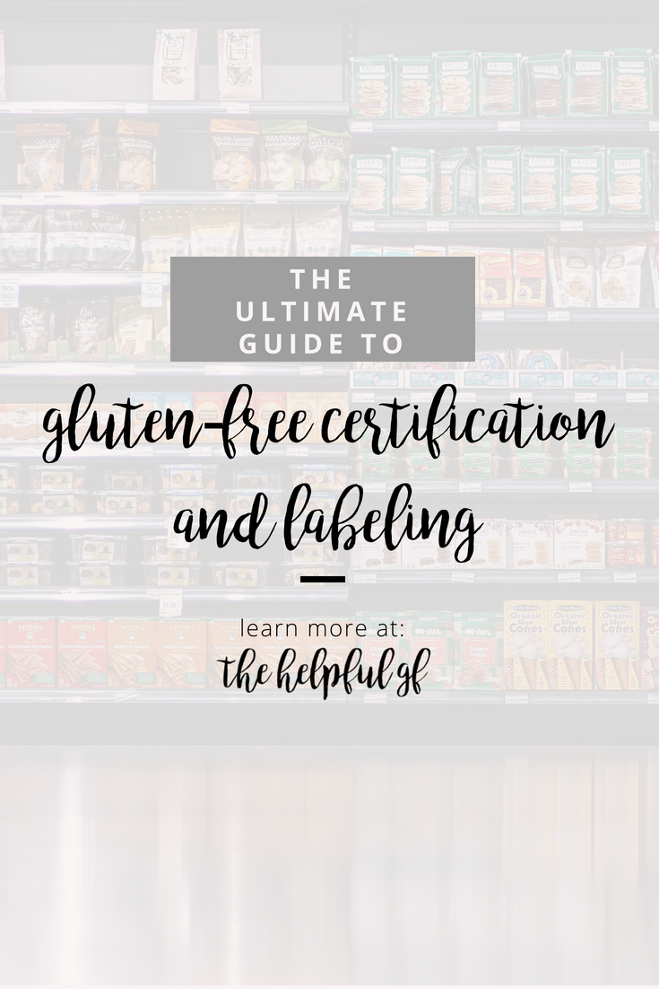 pin image for Gluten-free Certification and labeling