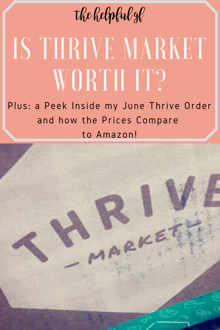Is Thrive Market worth the subscription cost? Plus, a price comparison between Thrive Market and Amazon Prime