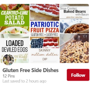 Gluten-Free Side Dishes Pinterest Board--The Helpful GF