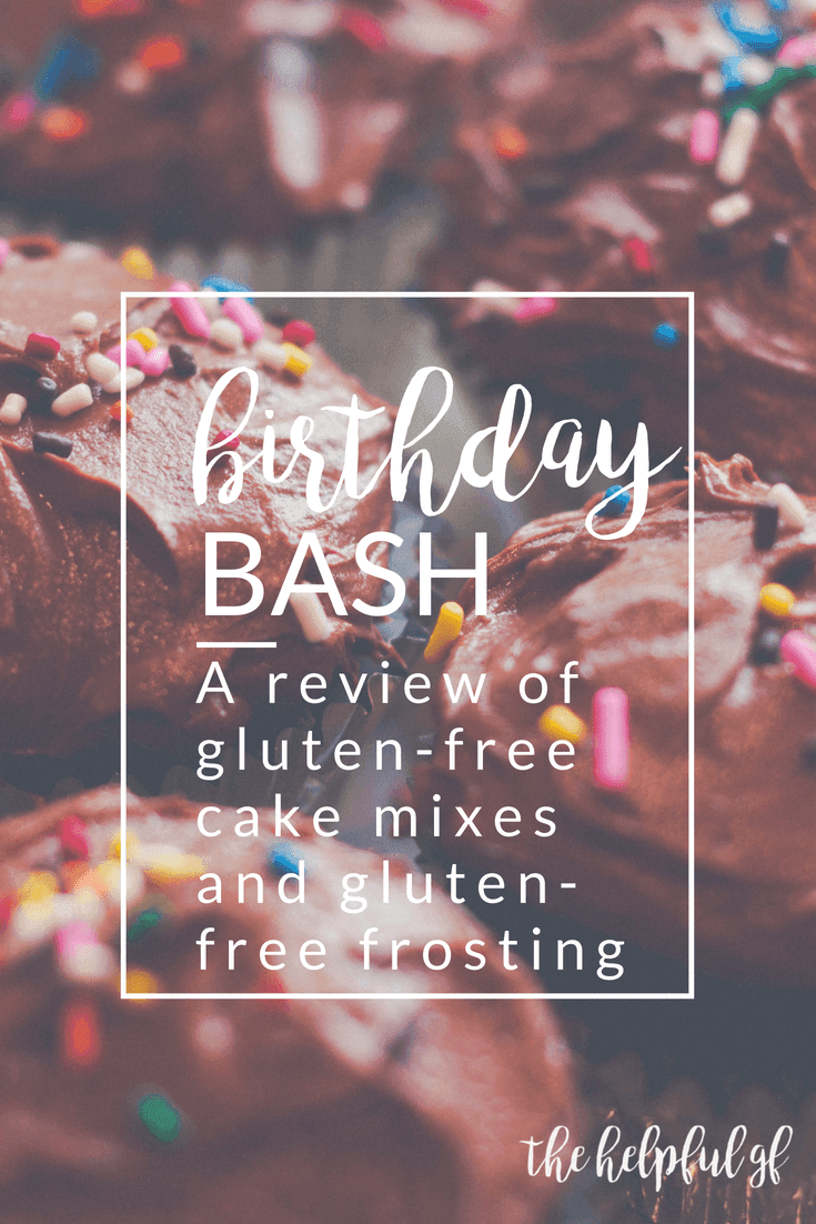 This is a master list of the best gluten-free boxed cake mixes and premade frostings with reviews! Pin now, reference later so you can make baking gluten-free desserts easy whether you want a cake, cupcakes, or are using a cake mix to make cookies, bars, or other sweet treat! Rated by taste, whether they're moist or dry, and more! reviews include: King Arthur, Simple Mills, and Bob's Red Mill!