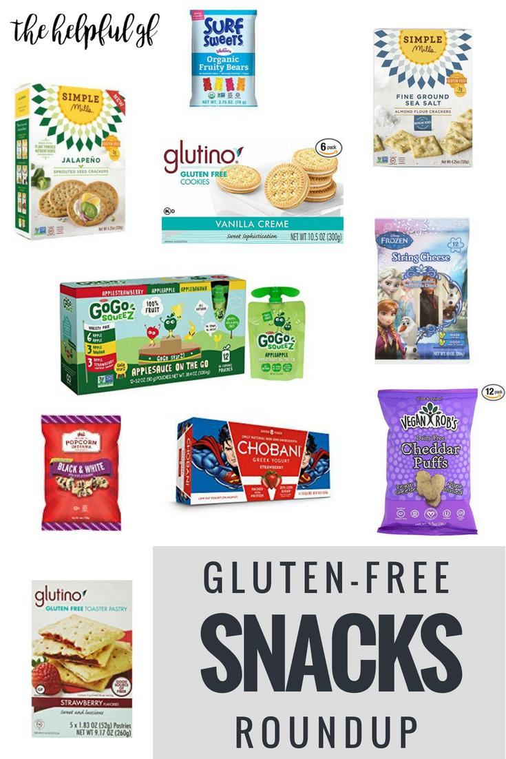 Gluten-Free Snacks Roundup 1