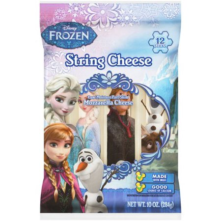 Disney Frozen gluten-free string cheese