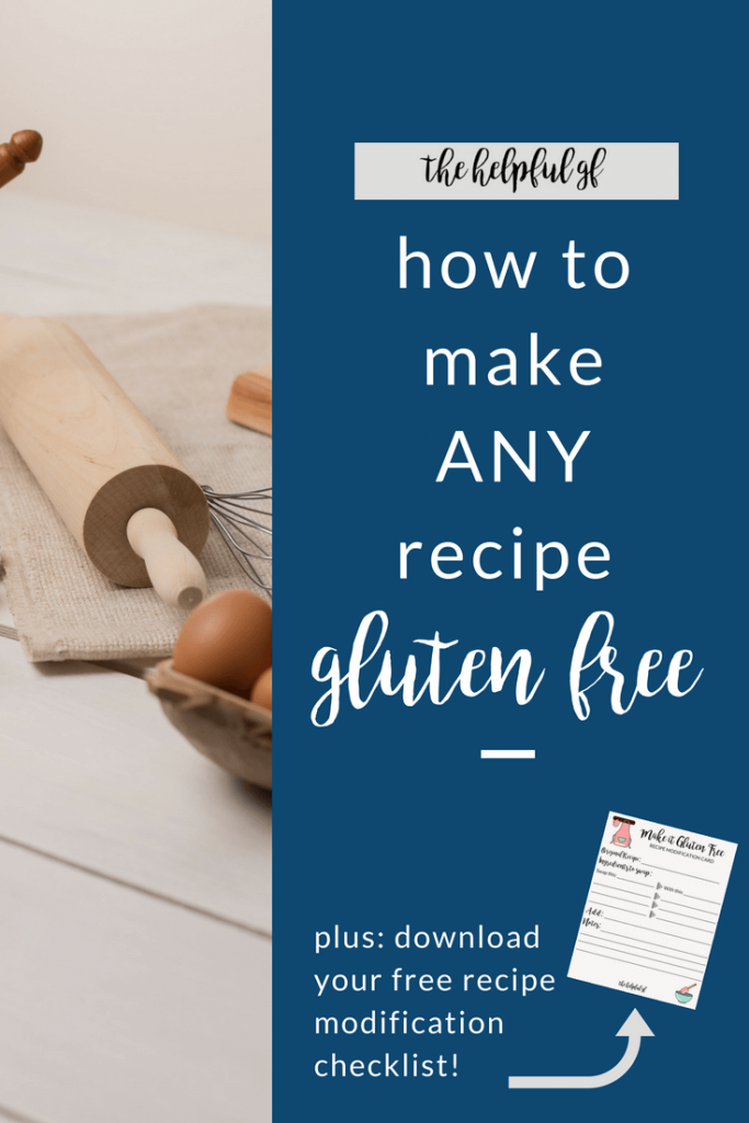 for simple tips on how to make any regular recipe gluten-free