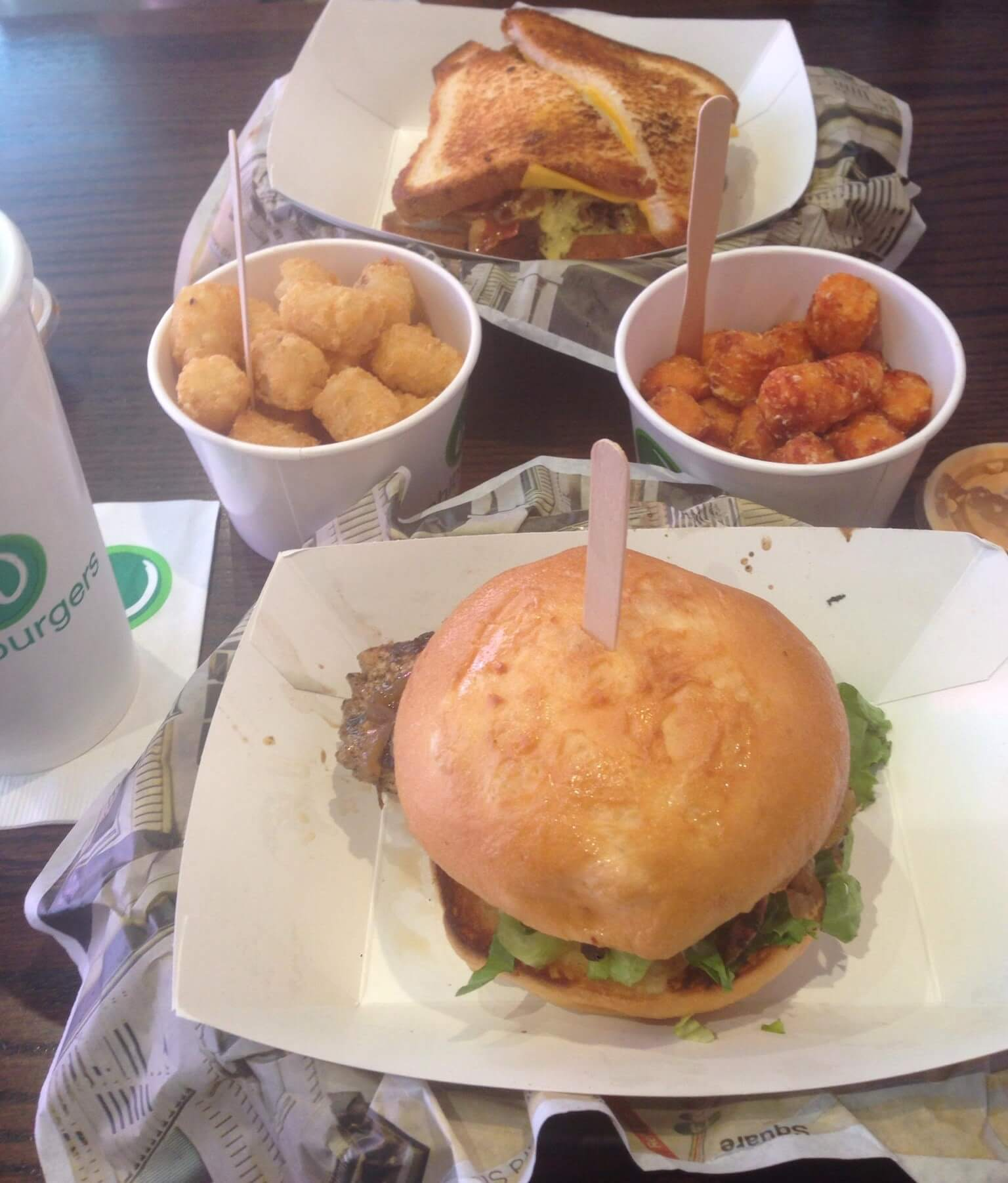 Lunch at Wahlburgers