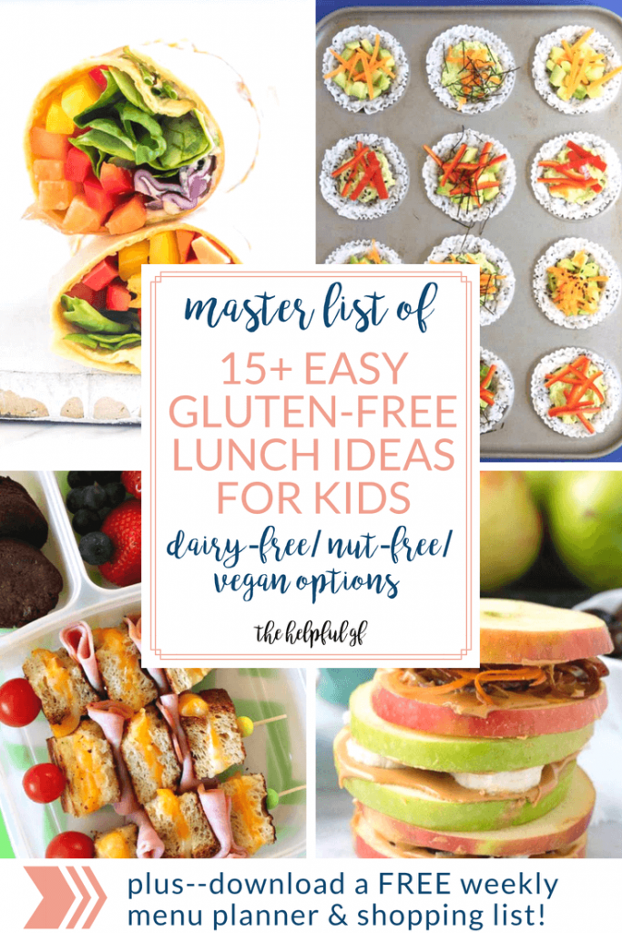 gluten free lunch ideas pin 1