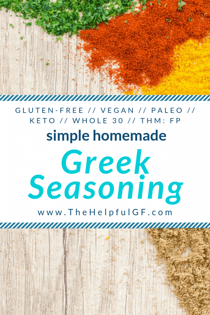 Homemade Greek Seasoning Pin 1