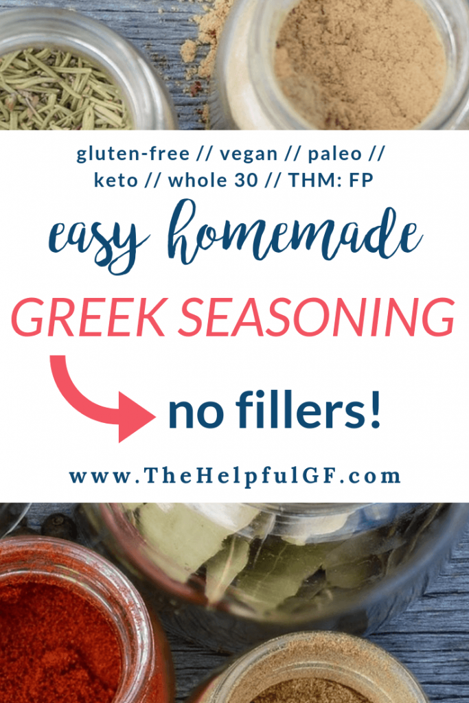 Homemade Greek Seasoning Pin 3