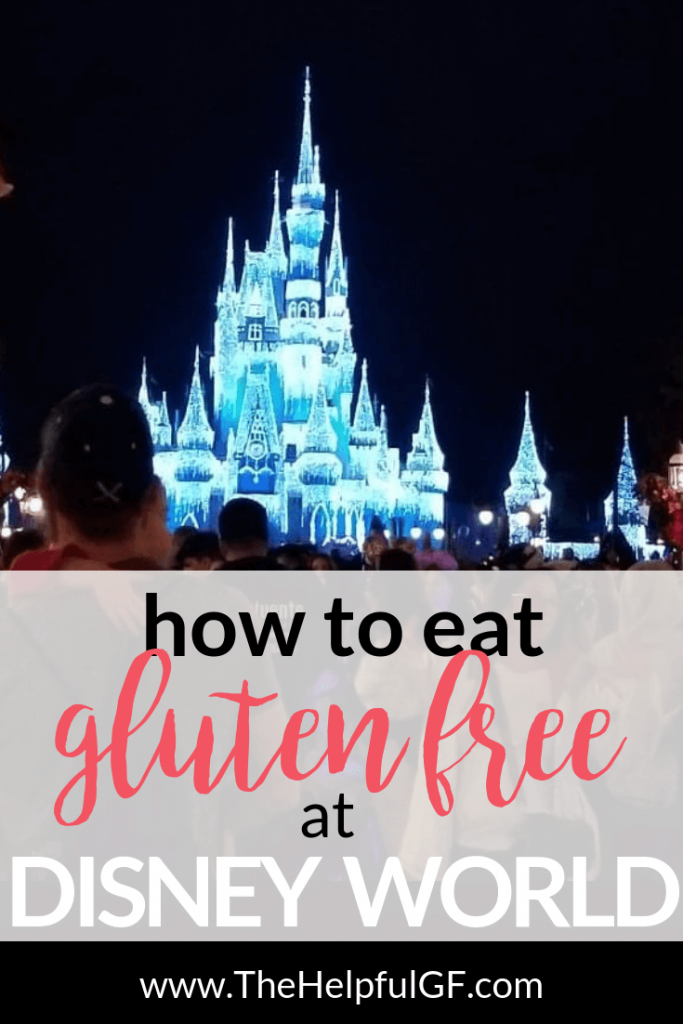 eating gluten free at disney world pin image 2