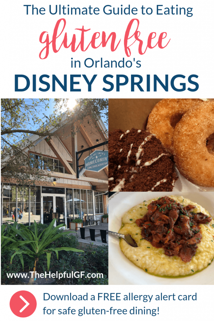 ultimate guide to eating gluten free in orlandos disney springs