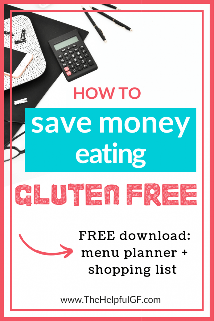 how to stave money when you're gluten free