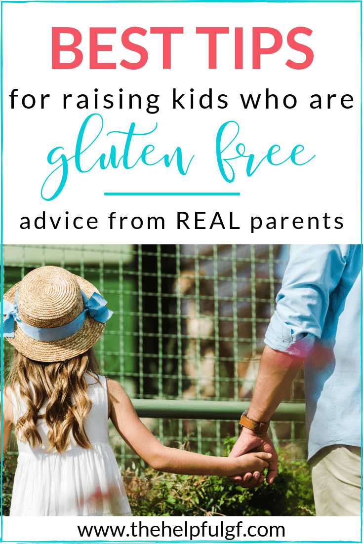 girl with father best tips for raising kids who are gluten free