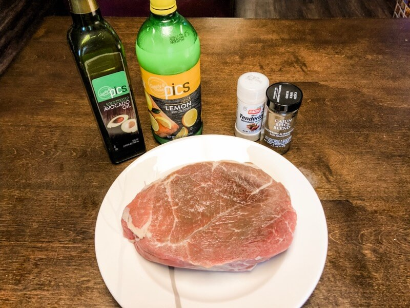 Gluten-Free Steak Marinade Without Soy Sauce Ingredients Image