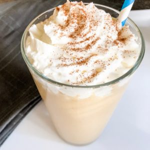 low carb pumpkin spice frappuccino with whip