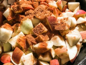 apples in crock pot