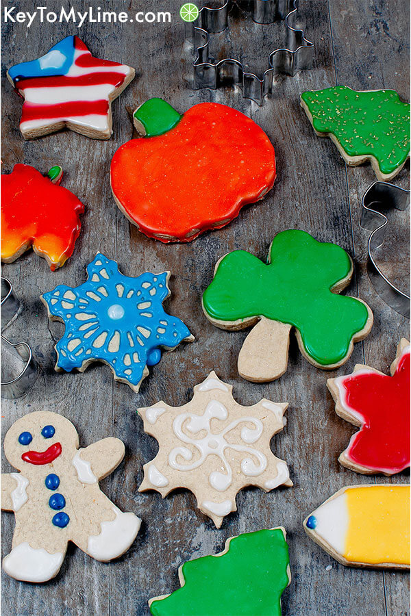 cut out sugar cookies gluten free