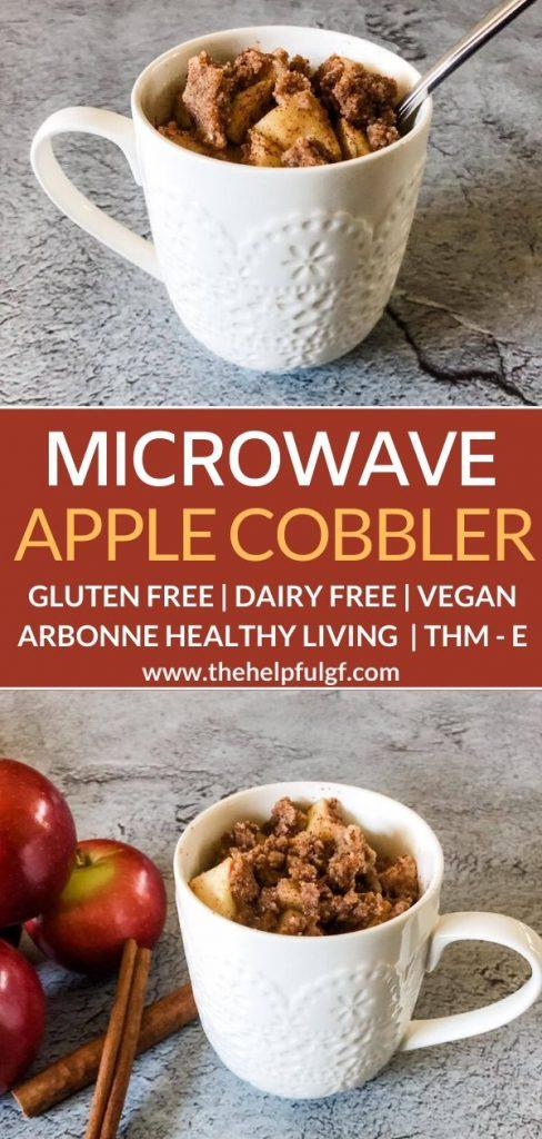 microwave apple cobbler long pin 2