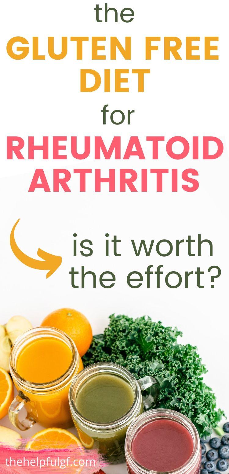 the gluten free diet for rheumatoid arthritis pin 1