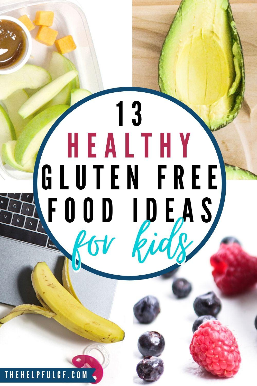 13 healthy gluten free food ideas for kids pin 2