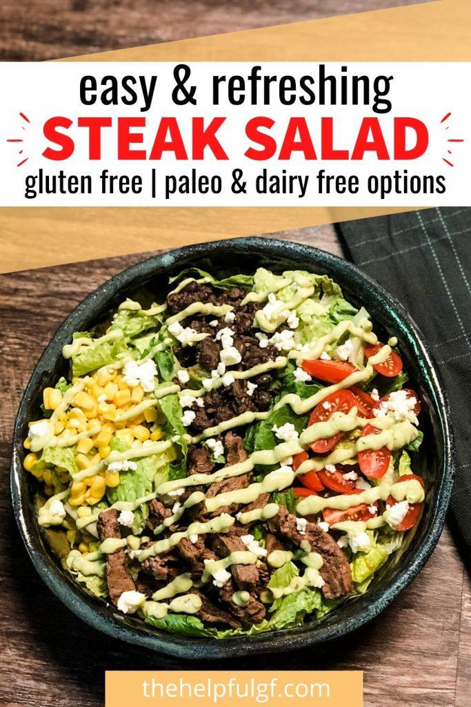Easy & Refreshing Steak Salad
