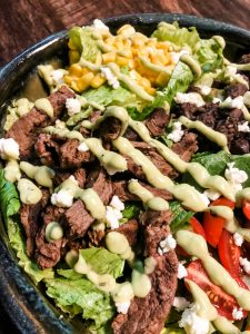 gluten free Steak Salad