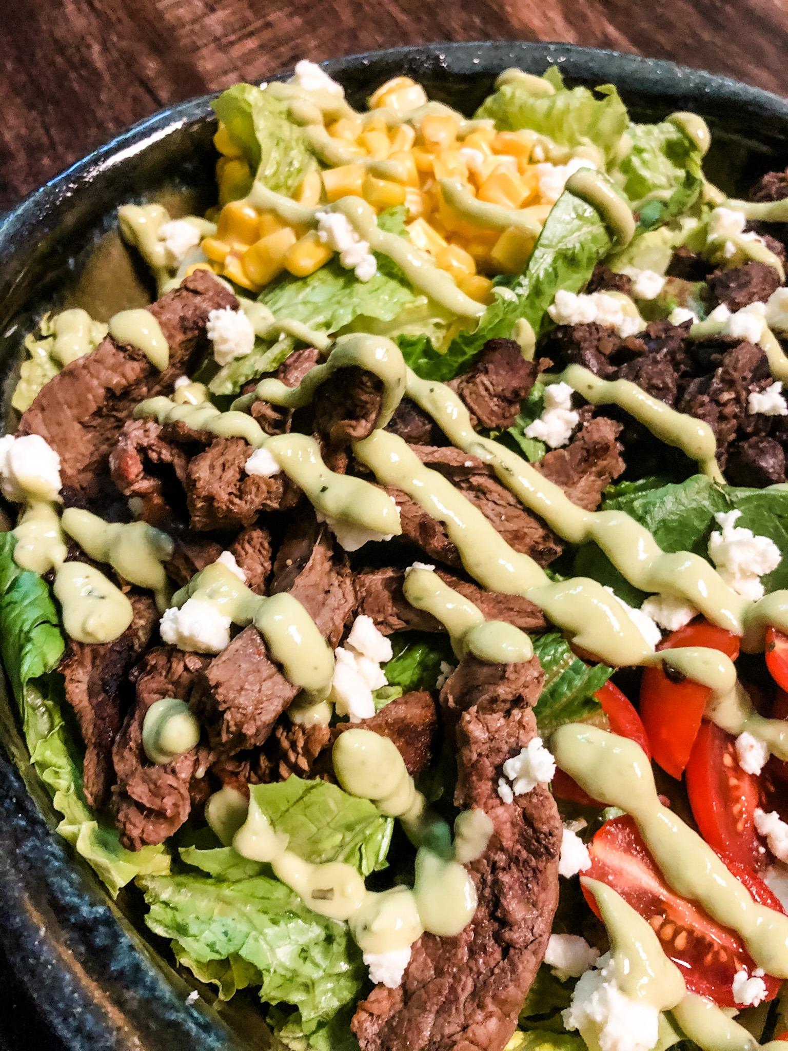 gluten free Steak Salad