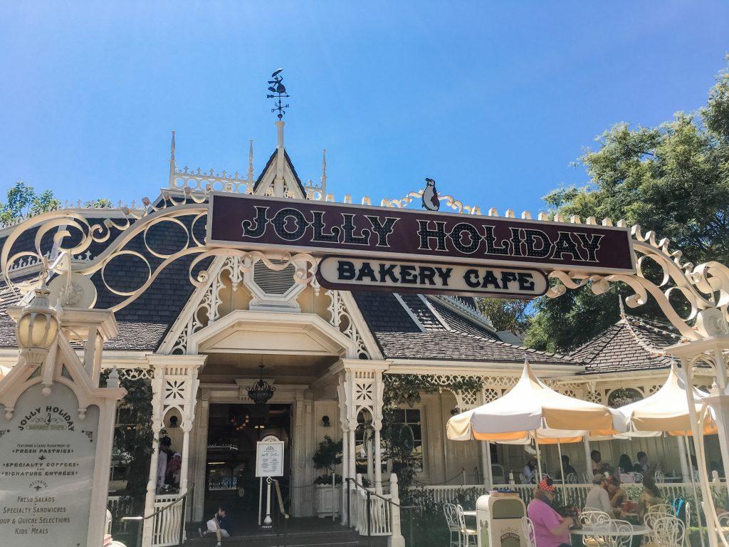 Jolly Holiday Bakery Cafe at Disneyland