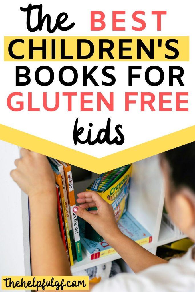 books for kids on shelf