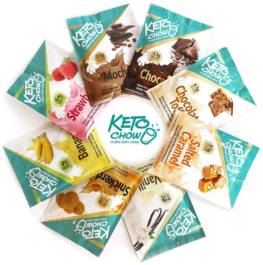 Keto Chow Samples