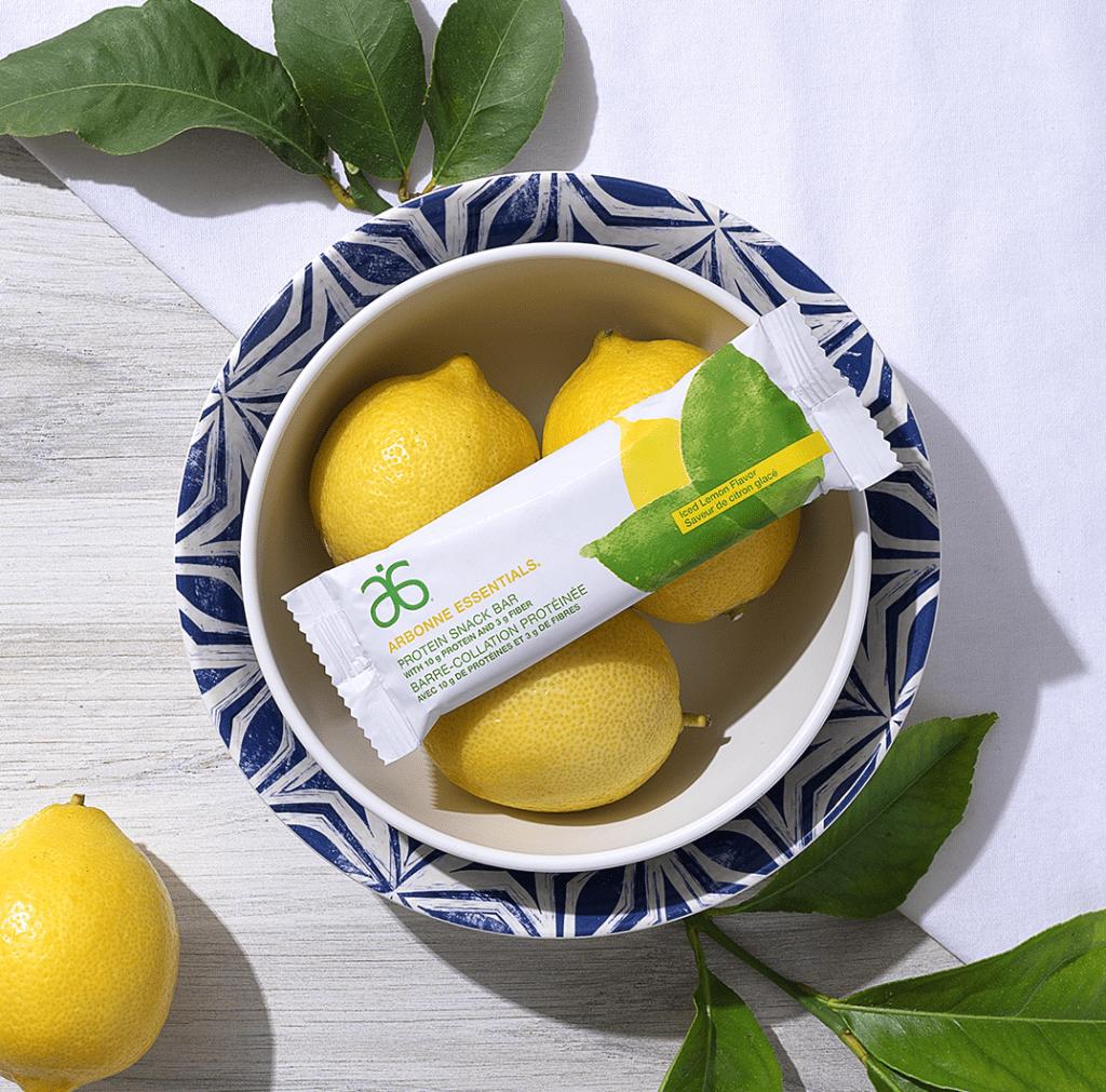 arbonne essentials lemon
