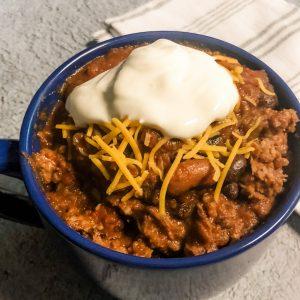 chili served
