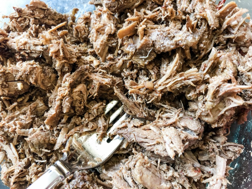 shredded barbacoa meat