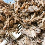 shredded barbacoa meat