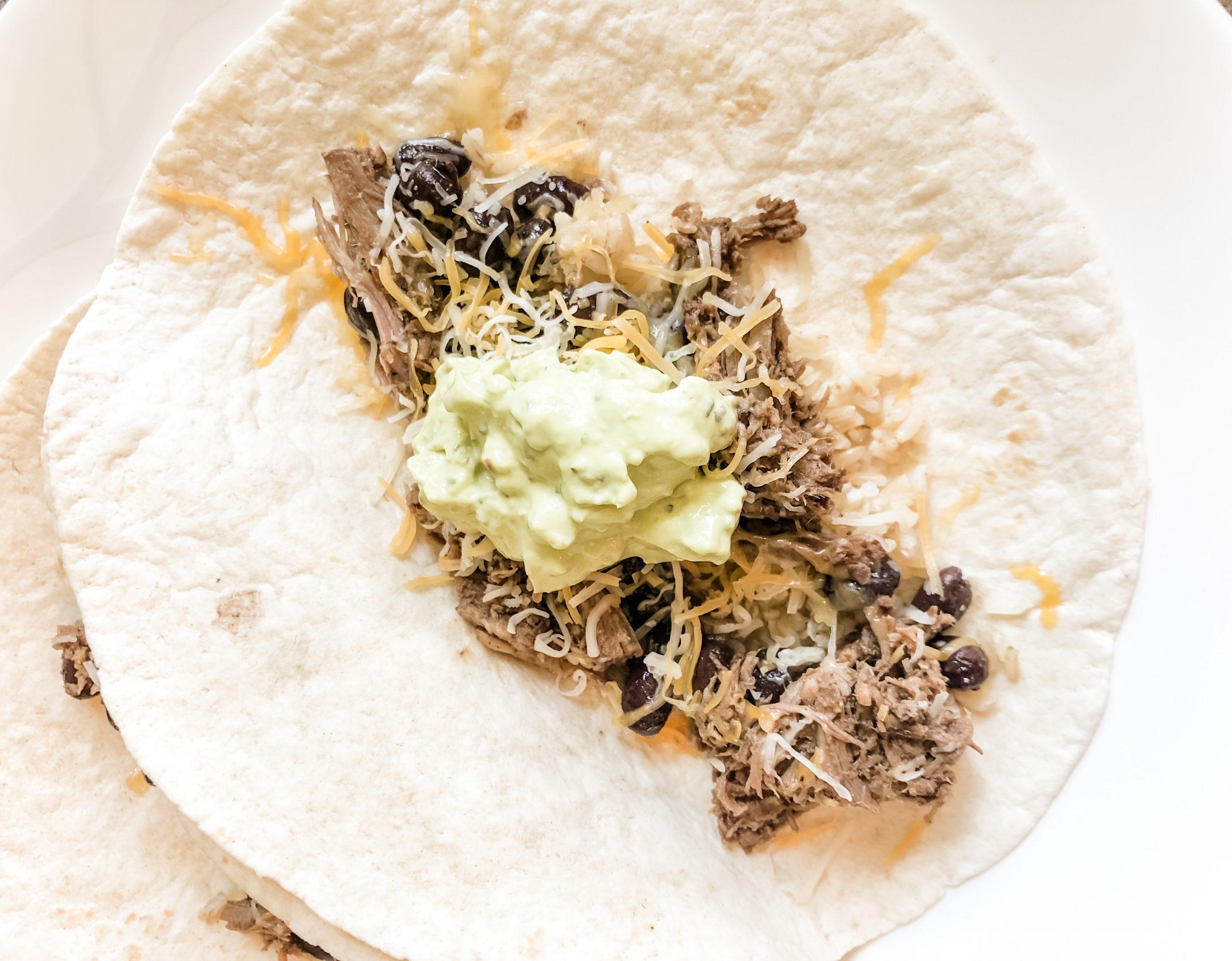 barbacoa tacos served