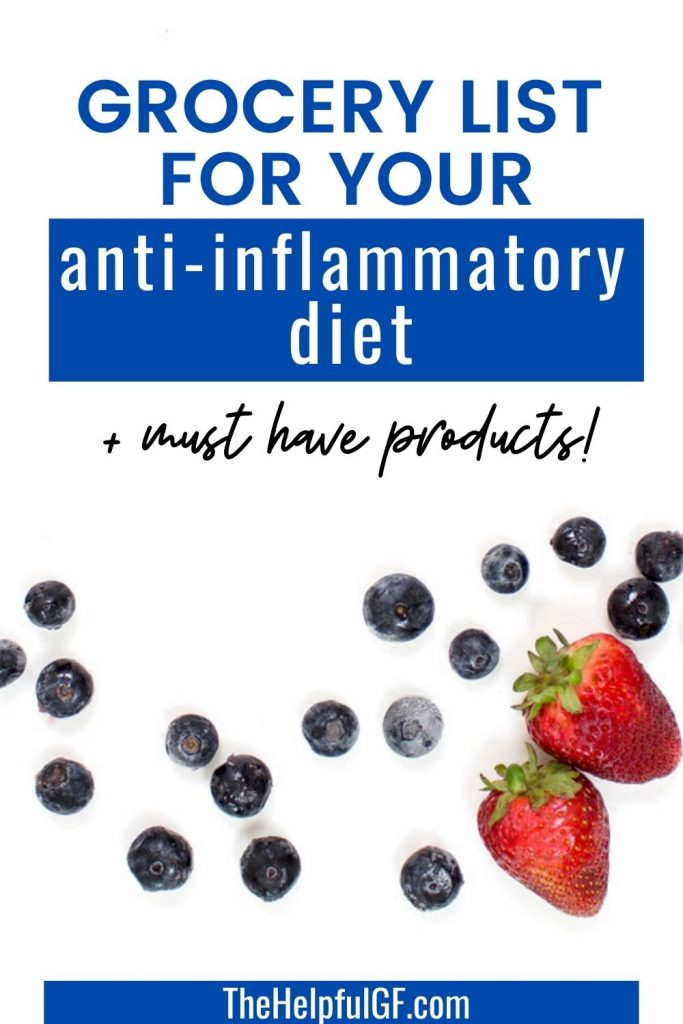 antiinflammatory diet pin image