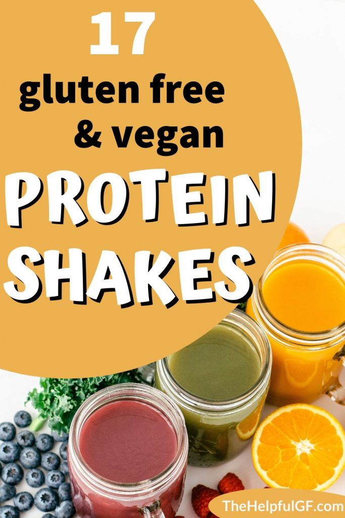 gluten free vegan protein shakes