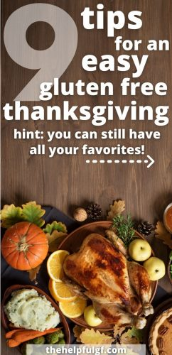 9 tips for an easy gluten free thanksgiving