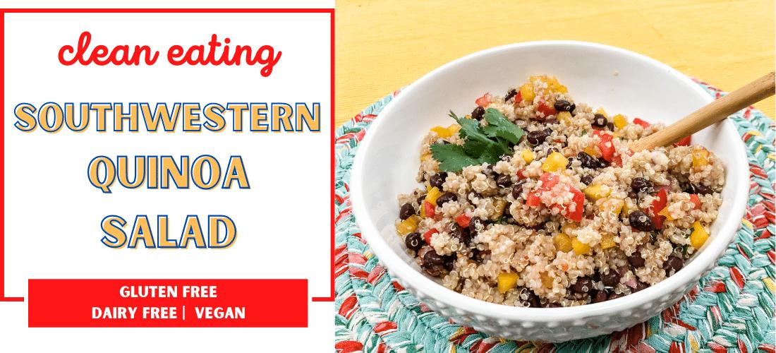 southwestern quinoa slider
