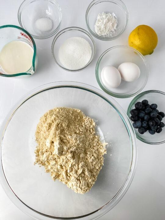 Blueberry Scones Ingredients
