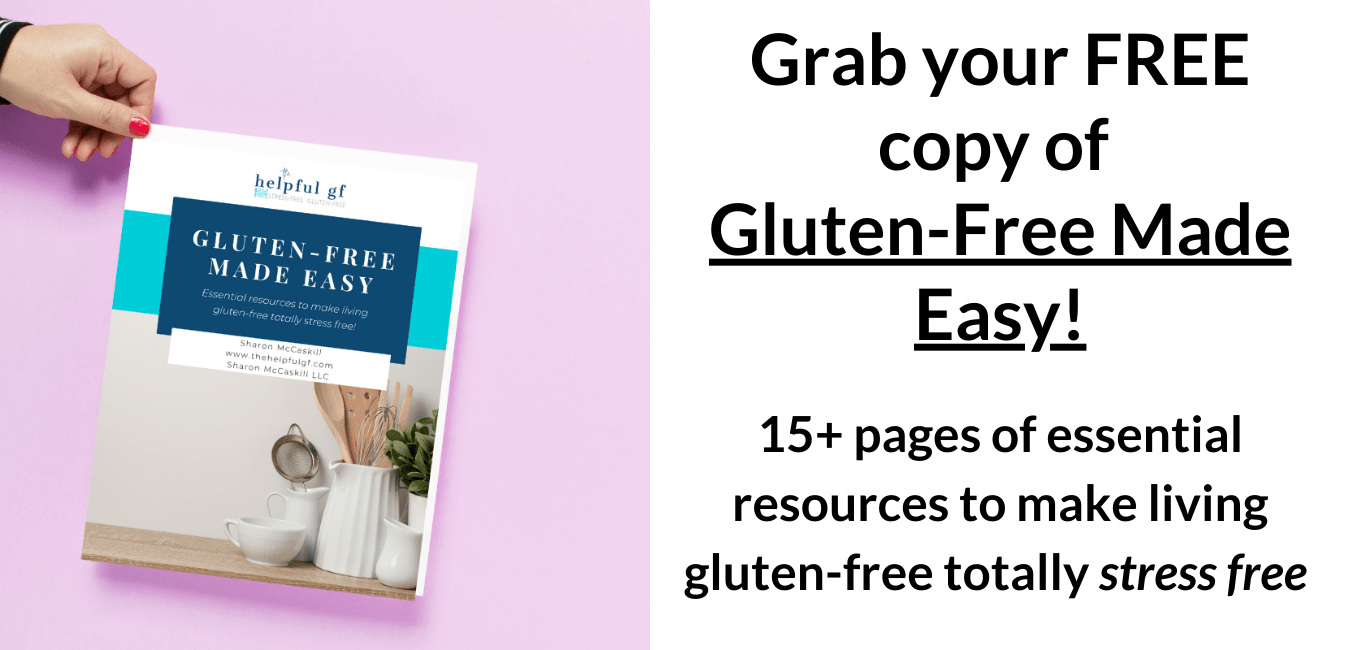 Grab your FREE gluten free made easy homepage image