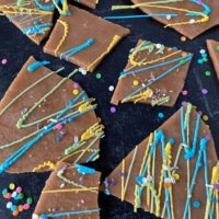 3 ingredient homemade toffee with